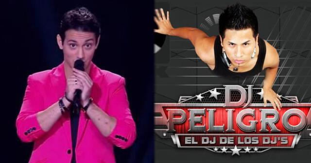 Jean Paul Santa María a DJ Peligro tras felicitarlo por entrar a La Voz Perú