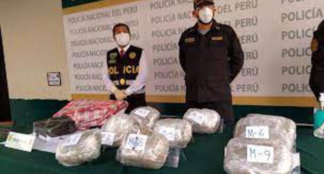 Droga fue encontrada en camioneta
