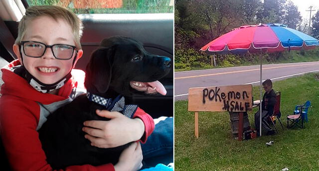 El pequeño puso en venta su colección más preciada para salvar la vida de su mascotas.