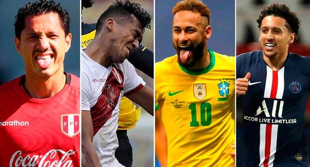 Copa América 2021: los jugadores más caros del Brasil vs Perú
