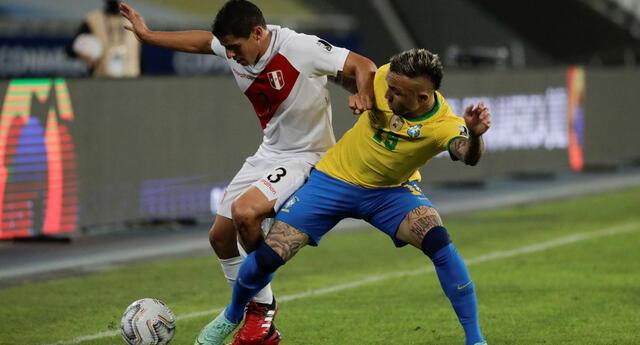 Perú cayó en el debut ante Brasil por la Copa América 2021.