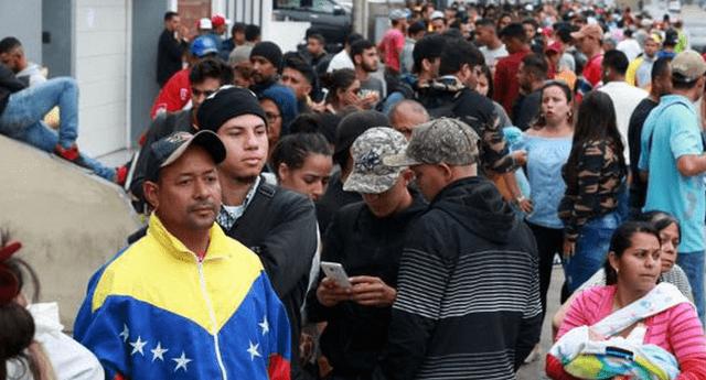 Migrantes venezolanos en Perú podrán optar por el CPP establecido por la Superintendencia de Migraciones.