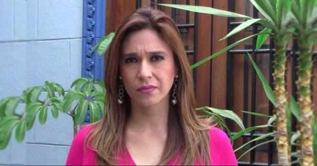 Verónica Linares critica recomendación del MIMP.