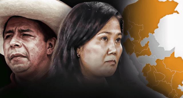 Keiko Fujimori postuló por tercera vez a la presidencia de la República, mientras que Pedro Castillo lo hizo por primera vez.