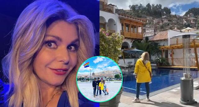 La recordada Soraya de María la del barrio, Itatí Cantoral, aprovechó pasar unos días con su familia en Cusco antes de comenzar sus actividades en Lima.