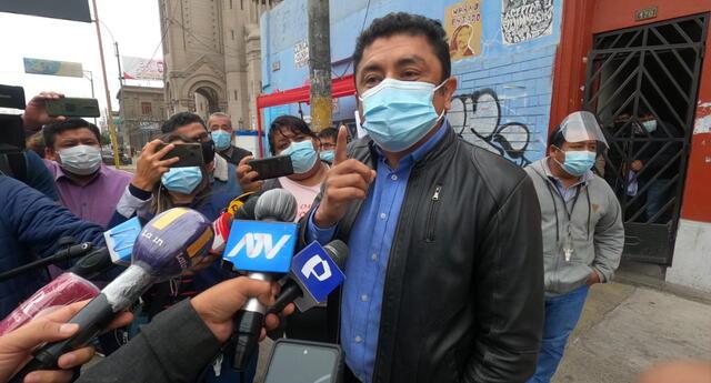 Guillermo Bermejo habló sobre el posible premier de Pedro Castillo