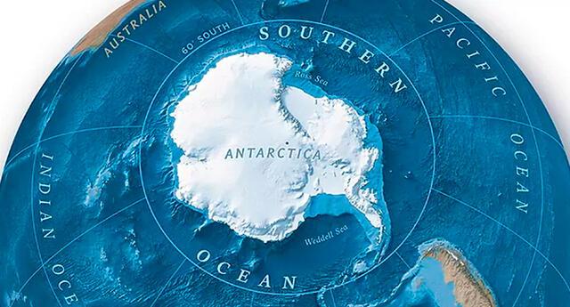 National Geographic comenzó a hacer mapas en 1915, pero la institución solo había reconocido formalmente solo cuatro océanos.