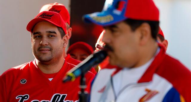 El diputado venezolano Nicolás Maduro Guerra, hijo del presidente Nicolás Maduro.