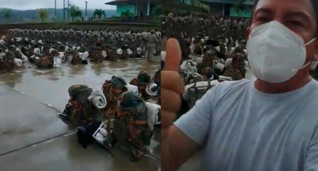 Mindef desmiente video de militares