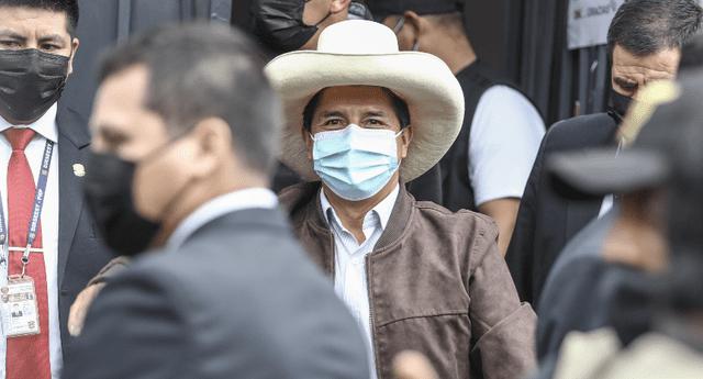 Pedro Castillo no asistiría a la marcha convocada por Perú Libre.