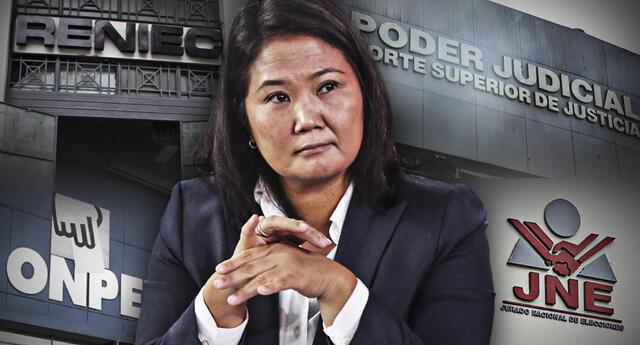 Lejos de reconocer su derrota, Keiko Fujimori continúa buscando argumentos para desprestigiar los resultados de las Elecciones Generales 2021.