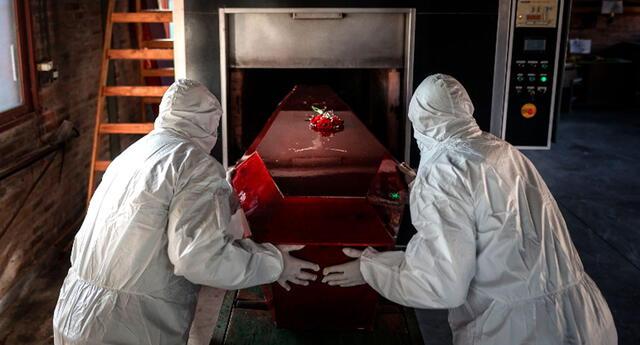 Los cuerpos por coronavirus son cremados en Argentina.