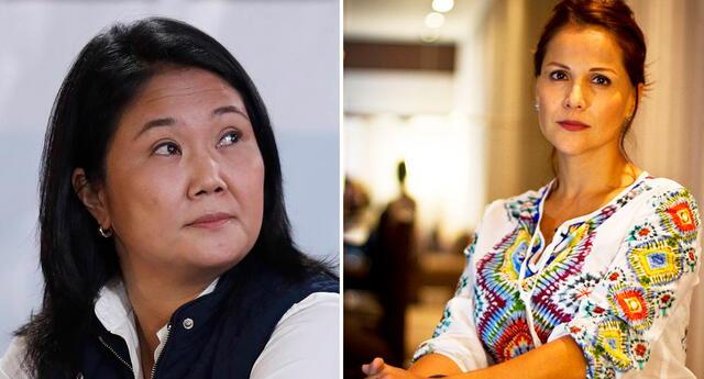 Mónica Sánchez pide reflexionar a los seguidores de Keiko Fujimori.