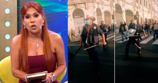 Magaly Medina no perdona la violencia en las calles.