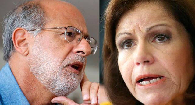 """Daniel Abugattás a Lourdes Flores: """"Hay que entender a Lourdes le pagan para defender el libreto que le entregan"""""""