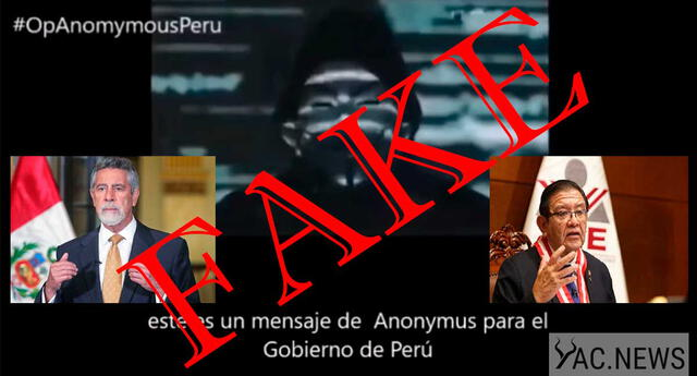 Video de Anonymous sería falso