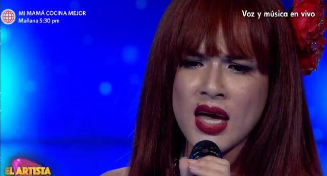La Uchulú no pudo ganar El Artista del año 2021 y deja mensaje.
