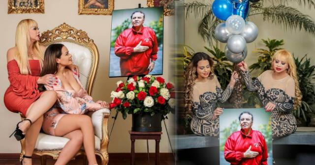 Flor Polo y Susy Díaz conmemoran a Augusto Polo Campos en el Día del Padre