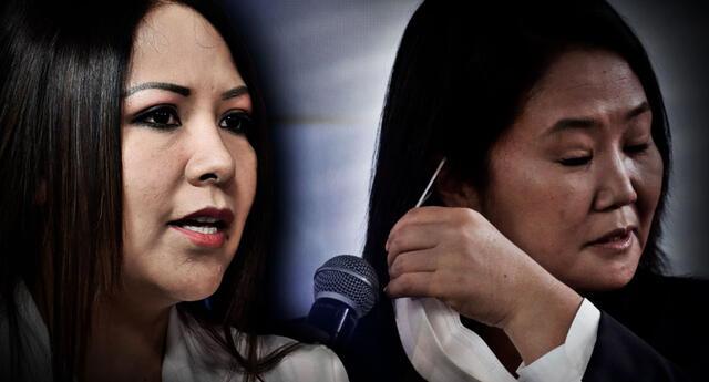 Cecilia García aseguró anteriormente que Keiko Fujimori era una 'berrinchuda y caprichosa que no sabe perder'.