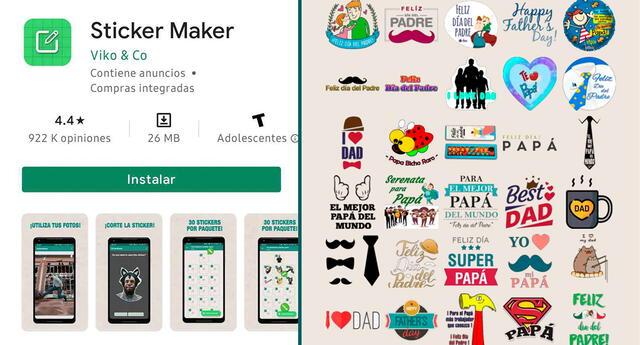 En la nota, te enseñamos los pasos para descargar los stickers de WhatsApp con motivo del Día del Padre.