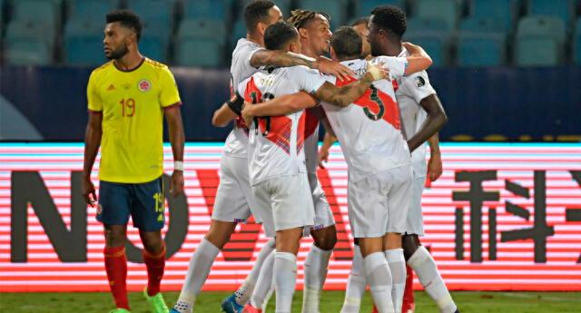 La 'Bicolor' derrotó a los 'cafeteros' con un 2-1, en la noche del domingo 20 de junio.