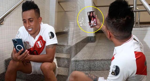 Christian Cueva se comunicó con Pamela López tras la victoria de la selección peruana.