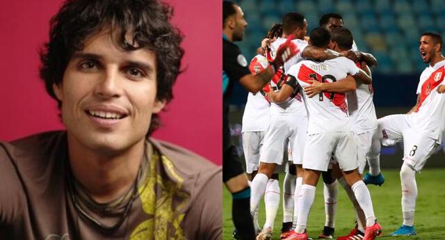 Perú logró imponerse en la Copa América al vencer a Colombia 2-1, y Pedro Suárez Vértiz lo festejó en sus redes sociales.