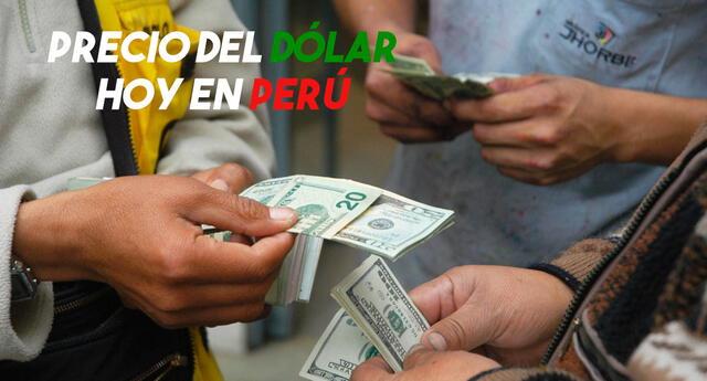 Precio del dólar en Perú HOY lunes 21 de junio