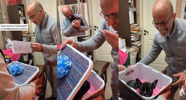 Peculiar video por el Día del Padre se hizo viral en las redes sociales.