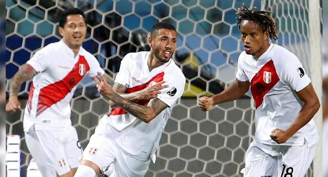 Gol tempranero de Sergio Peña fue gritado por todo el país.