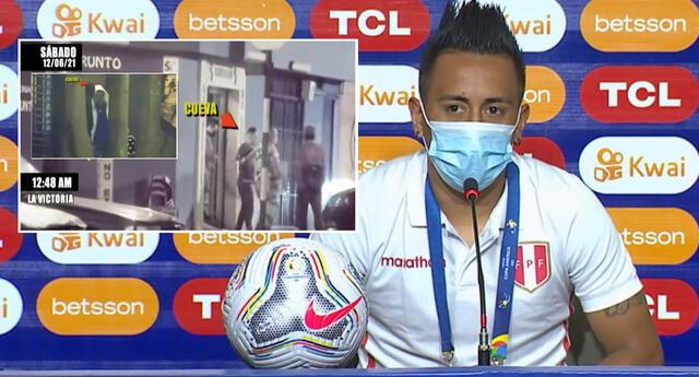 Christian Cueva se pronunció en conferencia de prensa en la previa del Perú vs Ecuador por la Copa América 2021.