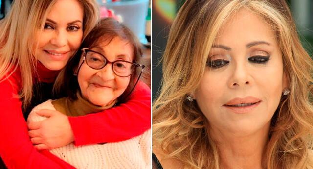 La conductora Gisela Valcárcel contó que llevó de emergencia a la clínica a su progenitora tras presentar problemas en su salud.
