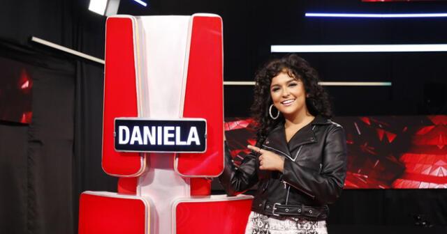 """Daniela Darcourt viene desempeñándose como coach de La Voz y un grupo de cibernautas le pidió """"por favor respetar a participantes""""."""