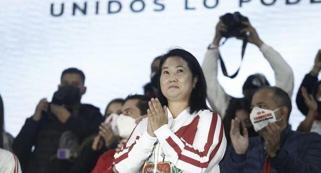 Este 2021 fue la tercera vez que Keiko Fujimori de Fuerza Popular postuló al cargo de presidenta.