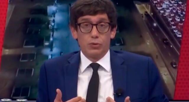 Jaime Chincha y su reacción en vivo tras sentir temblor en Lima
