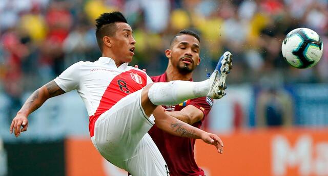 Perú va por su pase a cuartos de final ante Venezuela.