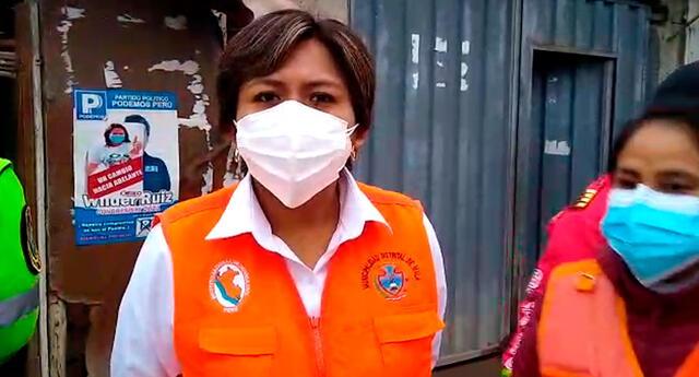 Sonia Ramos precisó que siete de los heridos ya recibieron el alta médica luego de recibir atención de primeros auxilios.