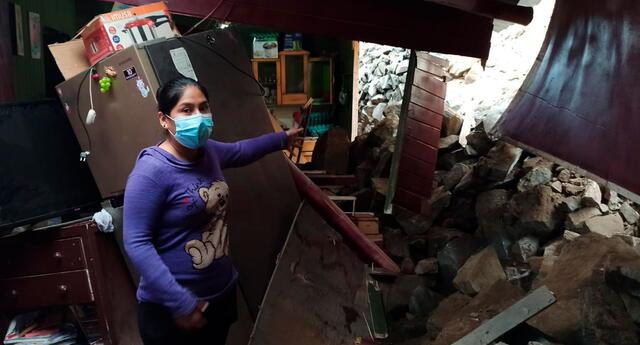 El temblor de 6.0 grados afectó varias viviendas en Lima