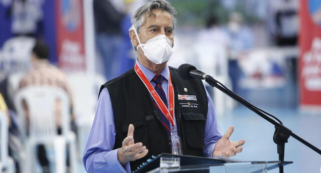 Presidente Francisco Sagasti se pronunció tras temblor 6.0 en Lima.