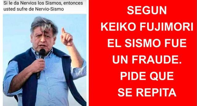 Luego del fuerte sismo ocurrido esta noche en Mala, en la provincia de Cañete (Lima) se difundieron memes en redes sociales.