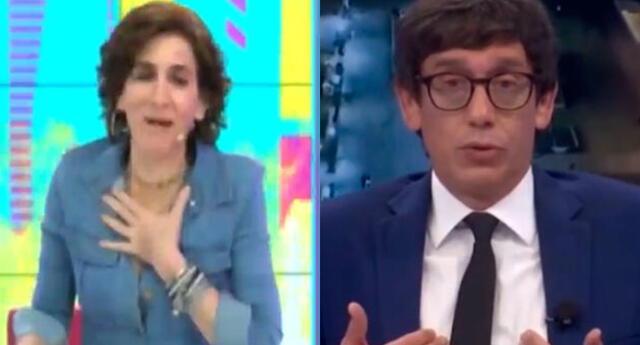 Gigi Mitre se pronunció sobre la reacción de diversos periodistas en pleno temblor de 6.0 grados, y se solidarizó con Jaime Chincha.
