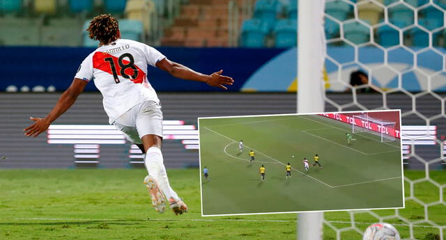 Perú logró el 2-2 ante Ecuador con gol convertido por André Carrillo.
