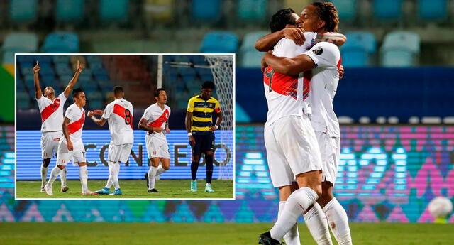 Perú y Ecuador igualaron 2-2 por el grupo B de la Copa América 2021.