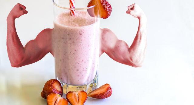 ¿Quieres aumentar masa muscular? Conoce 7 batidos ricos en proteínas