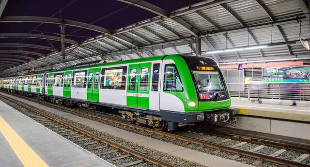 En caso de sismo se debe permanecer dentro del tren.