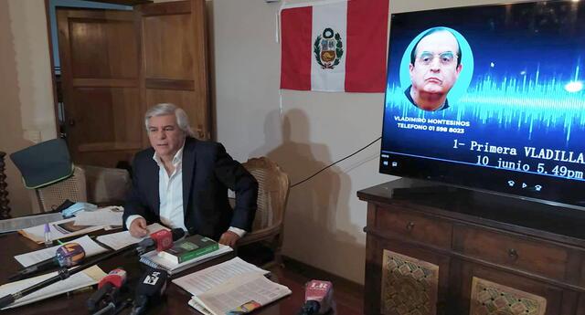 Hasta el momento, ni la Marina de Guerra del Perú ni el INPE se han referido a los audios de Vladimiro Montesinos.