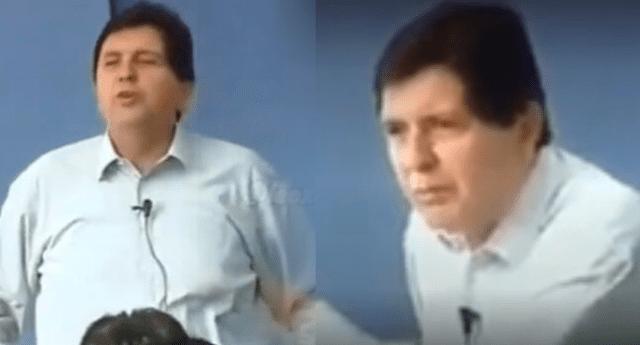 Video de Alan García generó diversas reacciones en las redes sociales.