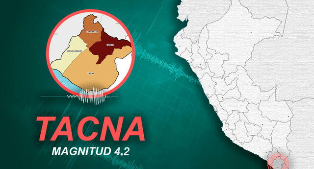 sismo de magnitud 4.2 alertó a ciudadanos de Calana