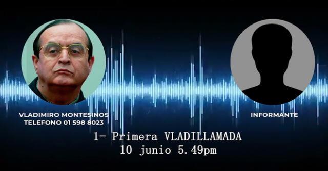 Vladimiro Montesinos y sus audios ha causado revuelo en la política peruana.