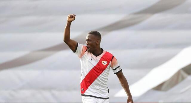 Llegó al Rayo en 2019 y, desde entonces, ha disputado 107 partidos oficiales.